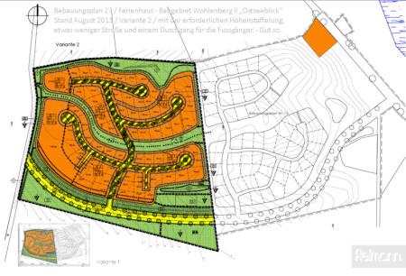 Bebauungsplan 27 / Wohlenberg / Stadt Klütz / Ferienhaus - Baugebiet Ostseeblick. Wohlenberger Wiek