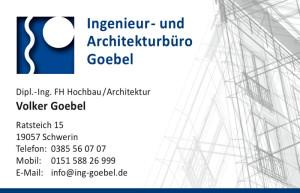 Visitenkarte Architekt Goebel