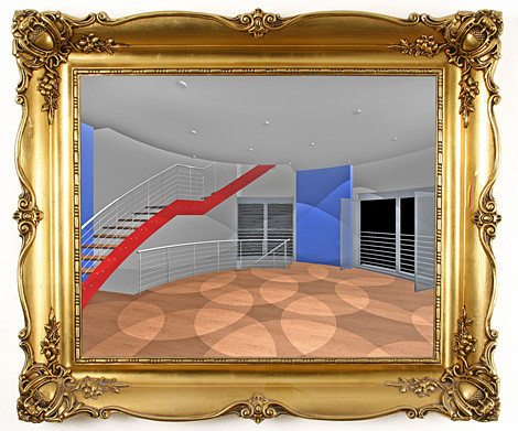 Büroflächen mit bodentiefen Fenstern
