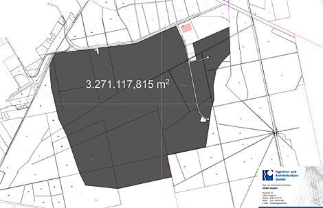 Verfügbare Flächen im Industriepark-Schwerin.