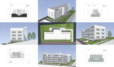 Appartementhaus, Anlageobjekt, Schweiz, Entwurf, Architektur