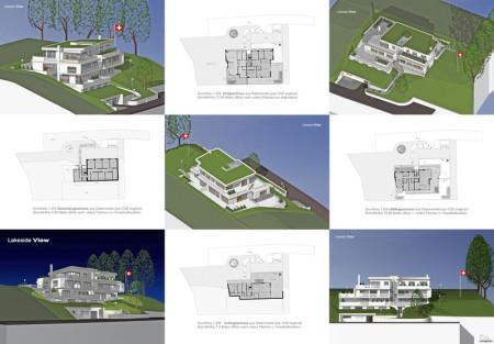 Entwurf Lakeside View Hubrainstrasse 30 Maur Schweiz