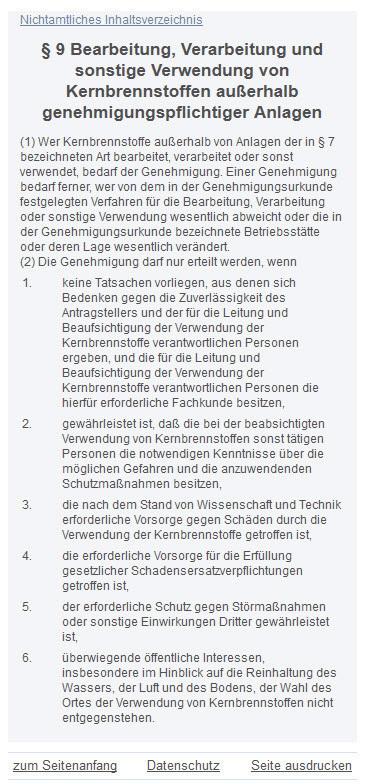 Atomgesetz Bundesrepublik Deutschland