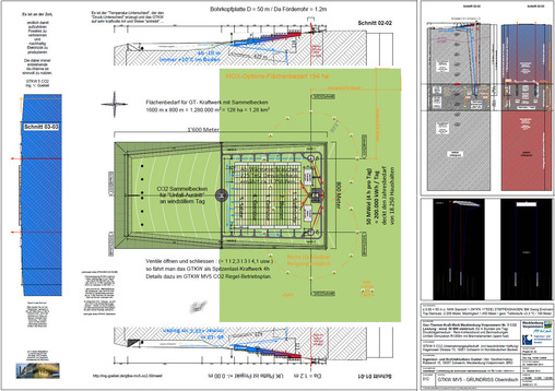 Endlager Kommission Atommüll Deutscher Bundestag - die Zeichnungen GTKW MV5 Endlager