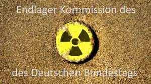 Kommission Endlager Deutscher Bundestag zuständig für den Atommüll