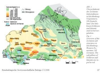 tiefes Steinsalz / Hinweis an die Kommission Endlager des Bundestags in Berlin zur Verbringung des Atommülls