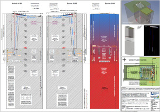 Zeichnung GTKW für Kommission Endlager Bundestag / Atommüll