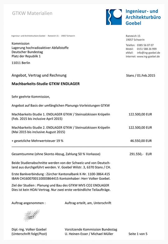 Hinweis an die AG 3 der Kommission Lagerung hoch radioaktiver organischer und anorganischer Abfallstoffe - nur Amphos 21 kann Comsol Multiphysics mit Multichemics - die haben Preise ...