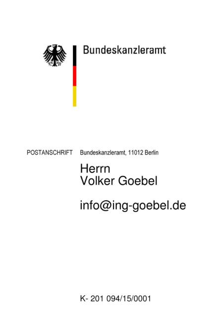Hinweis an die Kommission Endlagerung hoch radioaktiver im Bundestag