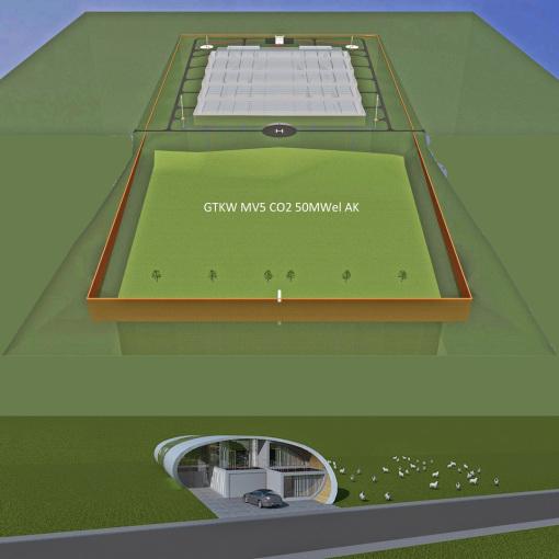 notwendiges Baustellengebäude für Endlager-Bau GTKW Tiefsalz Kröpelin