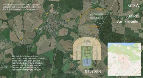 Hinweis an die Bevölkerung der Region Ostsee