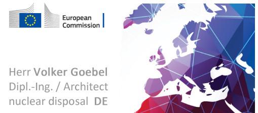 Hinweis an die EU Kommission / Visitenkarte - einfach selbst gemacht, aber durchaus mit ernstem Hintergrund