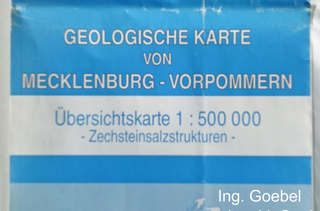 Geologische Karte von Mecklenburg-Vorpommern Übersichtskarte 1zu500000 Zechsteinsalzstrukturen LUNG M-V fragen