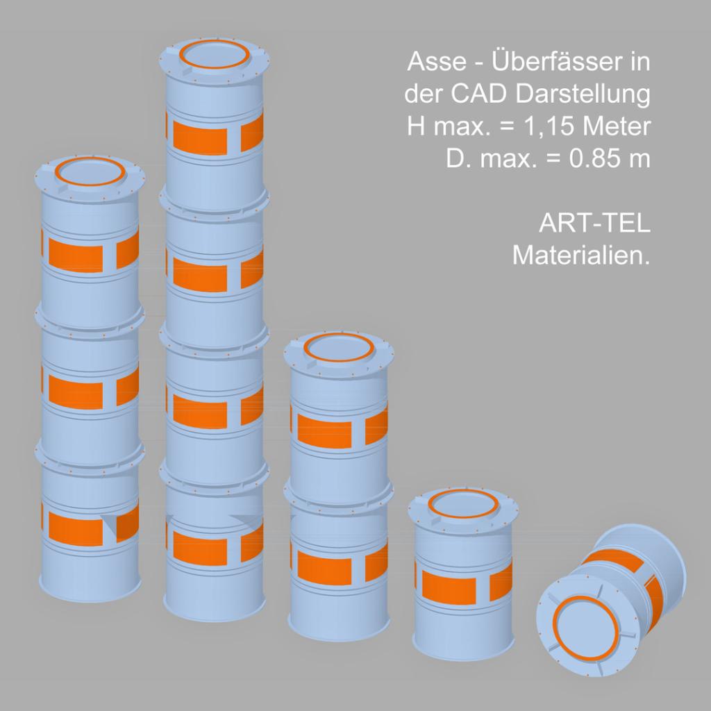Das Asse Überfass von Maschinen Meyer in Sulingen in der CAD der ART-TEL Planung
