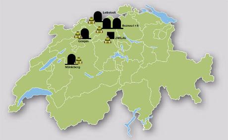 Endlagerung gibt den Axpo Kraftwerken eine Perspektive