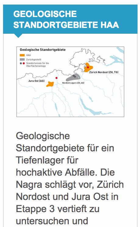 hinweis an die Bevölkerung der Schweiz und die Bevölkerung Süd-Deutschlands