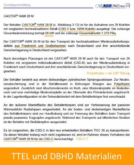 HAW 28 M German Text description Castor