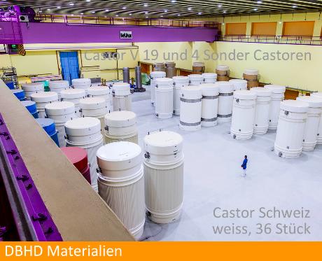 Behaelter DBHD ENDLAGER SCHWEIZ - bei Direkter Castoren Lagerung