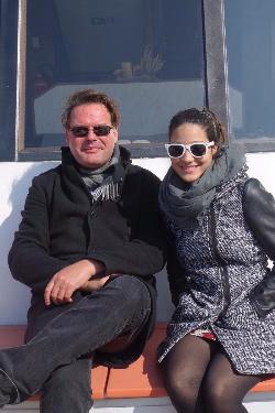 Volker Goebel Endlager Fachplaner mit Freundin Laura Schön Schweiz Vierwaldstätter See