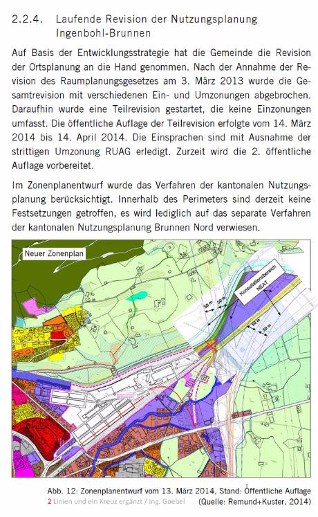 Nova Brunnen - Hertipark - Hertiturm - Industrie Brunnen - NEAT Konflikt