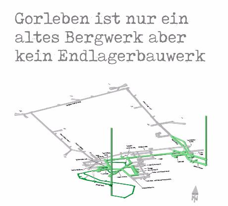Gorleben ist nur ein altes Bergwerk aber kein Endlager-Bauwerk - Dipl.-Ing. Goebel