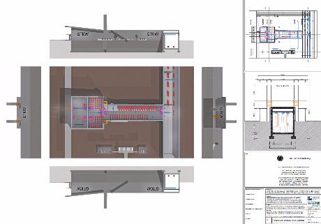 Endlager Atommüll Vorschaubild_024_Grundriss_Umpack-Halle_Robotisch_Castoren_GTKW_5.3_Endlager