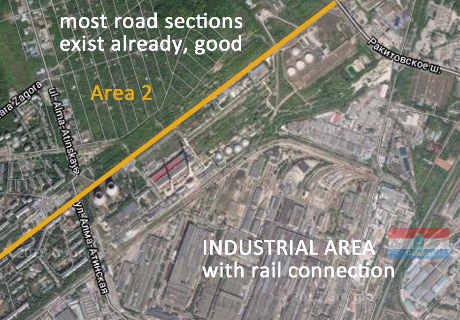 Karl Marx City Road Project Samara - from city center to motorway M5