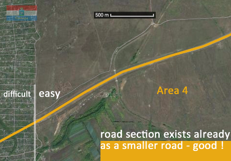 Karl Marx City Road Project Samara - from city center to motorway M5 ------ Предварительный проект дорог в центре Самары