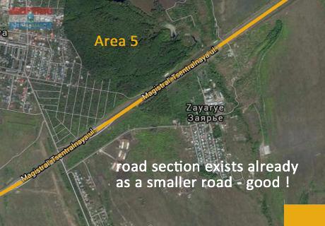 Karl Marx City Road Samara from Centre to Motorway M5