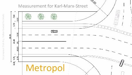 karl marx city road measurement Metorpol----- Предварительный проект дорог в центре Самары
