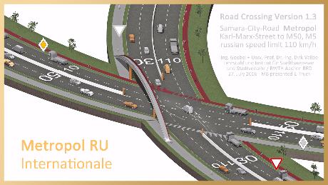 ----- Предварительный проект дорог в центре Самары Karl-Marx-City-Road to Motorway M50 Samara Metropol Magistral Olympia 2018