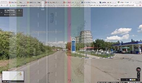 Предварительный проект дорог в центре Самары