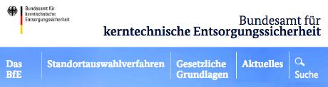 Bundesamt für kerntechnische Entsorgungssicherheit - ohne Fachkompetenz