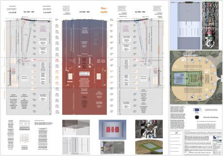 Endlager GTKW Kröpelin - Schnitte - nuclear repository GTKW