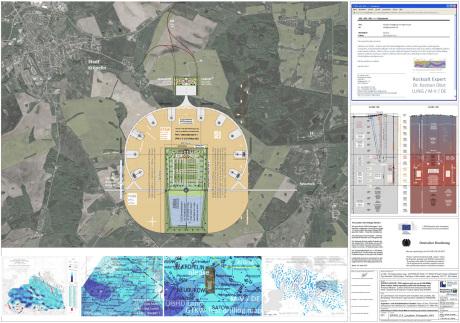 Standort Endlager GTKW Kröpelin - Location nuclear repository Kröpelin Germany