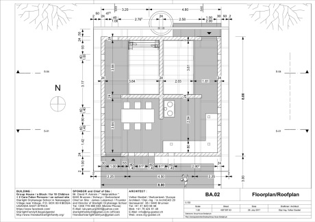 Floorplan group house starlight family Kiboga / Uganda