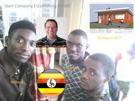 Directors of MGKB building contractors Uganda