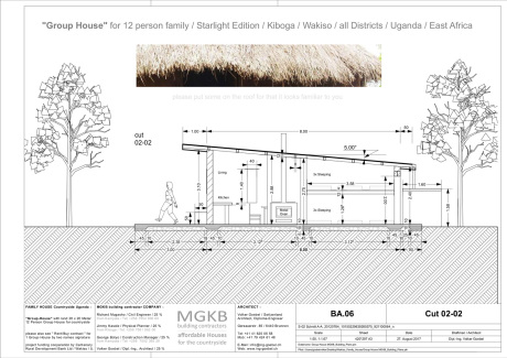 Group House all districts Uganda by MGKB building contractors Ltd. Uganda