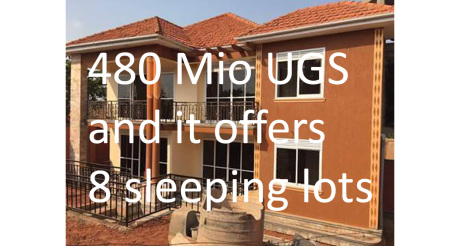 stupid house Uganda - too expensive for a fast growing population