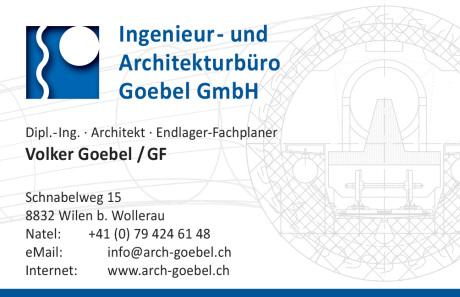 Visitenkarte Endlager Fachplaner Volker Goebel Wollerau Schweiz