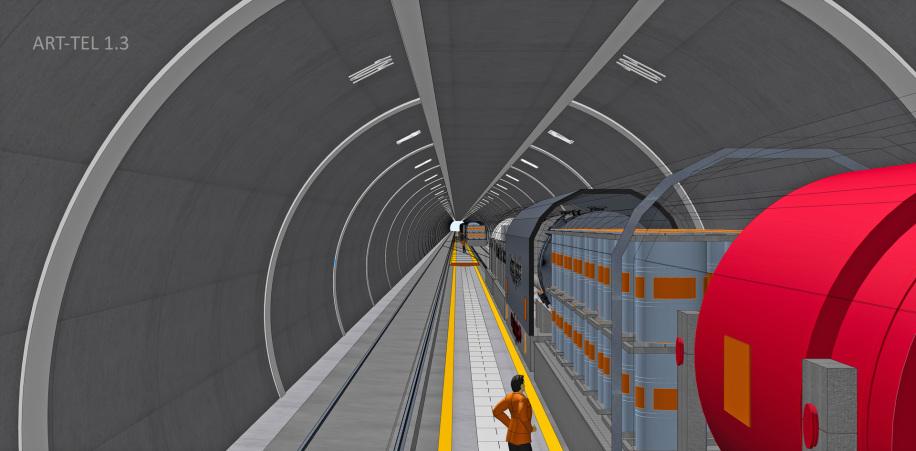 88_ART-TEL_1.3_Tief-Tunnel_Lagerung_LLW_Vor-Lagerung_HLW_DE