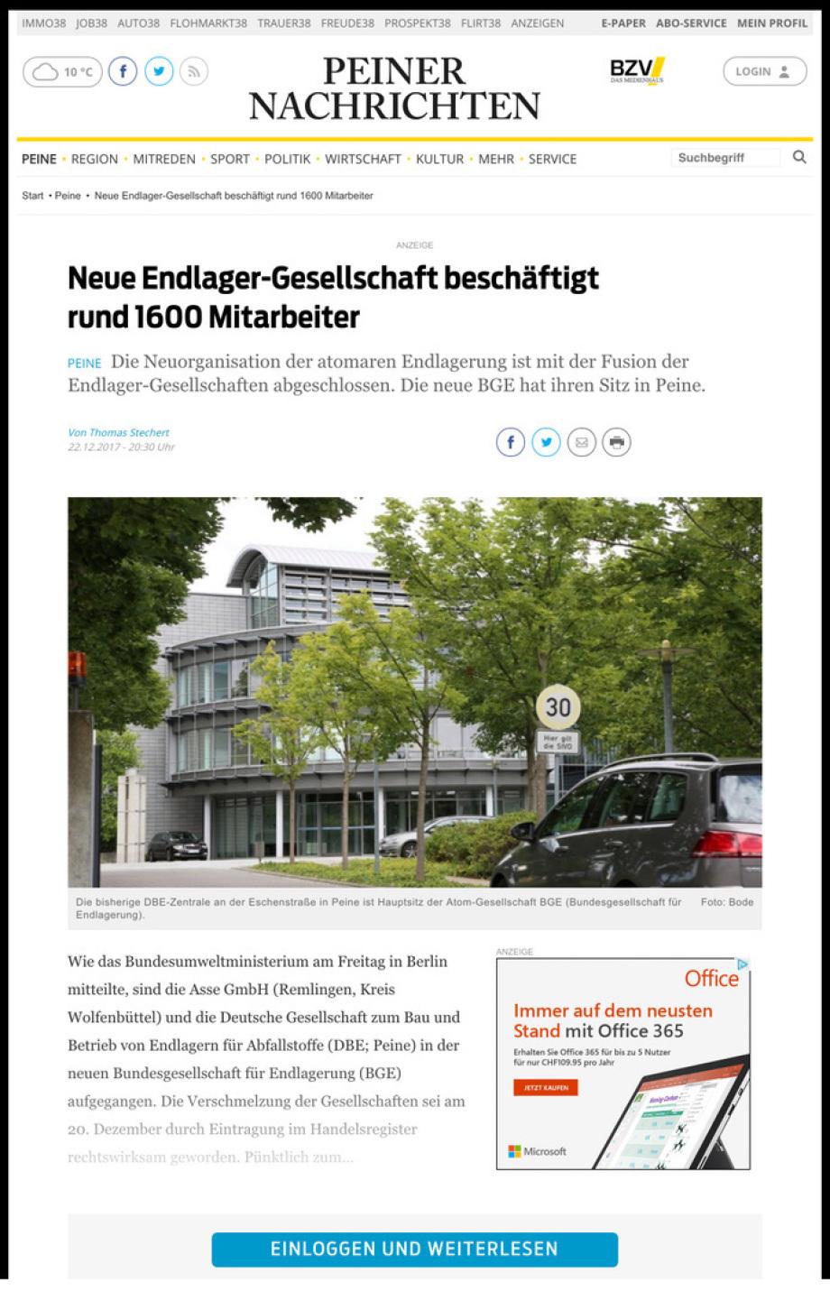 BGE_DBE_Peine_Peinlich_ohne_Planungen_ohne_Standorte_seit_37_Jahren_erfolgloses_Team