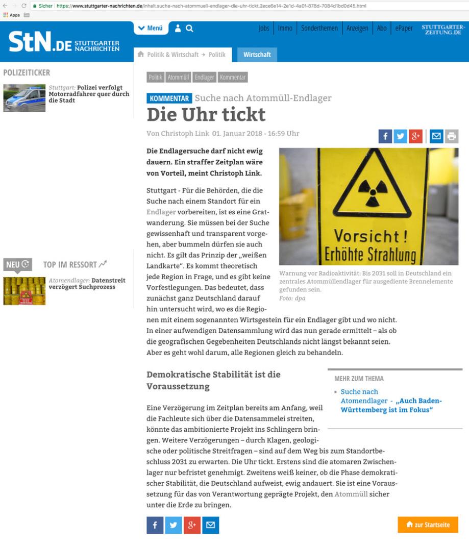 Stuttgarter_Nachrichten_Die-Uhr_Tickt_Kritik_an der-BGE-GmbH