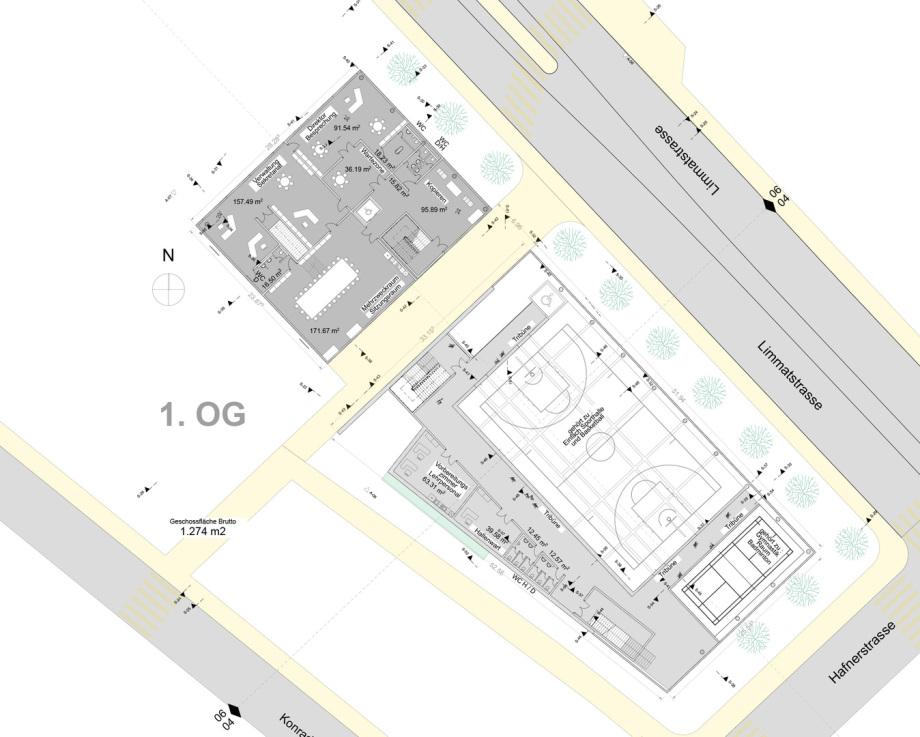 1_OG_Vor-Entwurf_Wettbewerb_BBZ_Neubau_ZH_Ing_Goebel-3