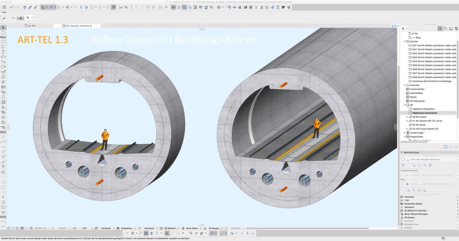 11_ART-TEL_1.3_Tunnel_Vorlaeufiges_Endlager_Abkling_Garage - Asse, Konrad, Gorleben, Morsleben, TTEL, GTKW, ART-TEL