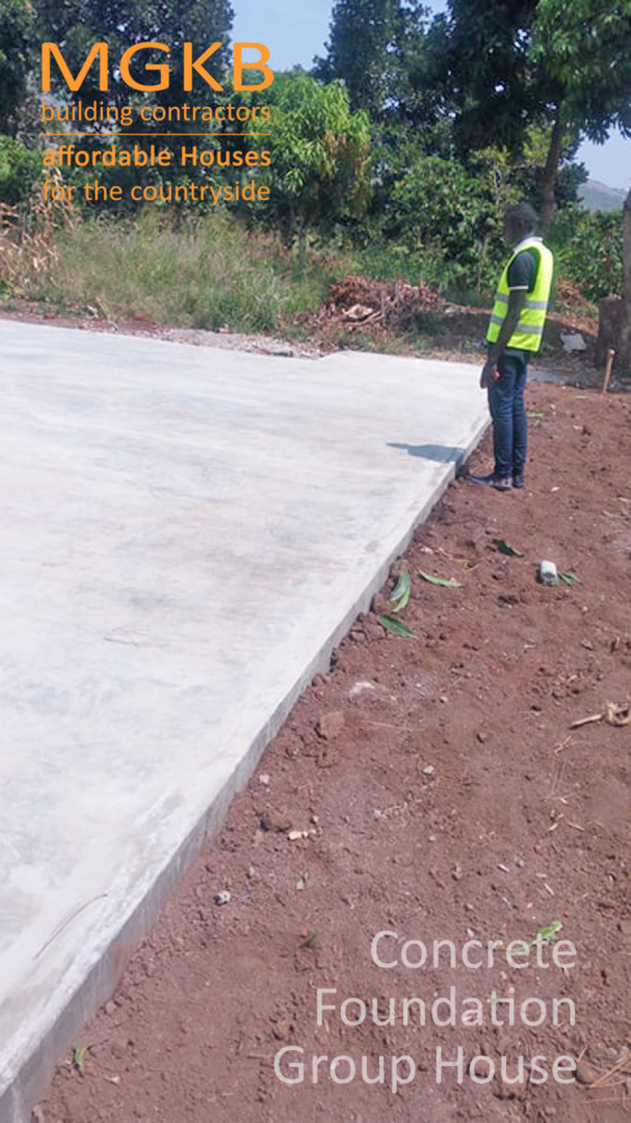 Ready to use foundation plate in Kiboga for Group House
