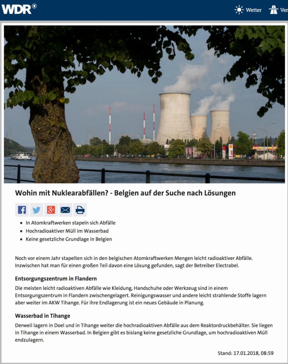 extrem verletztliche Nur-Lagerbecken Lagerung in Belgien