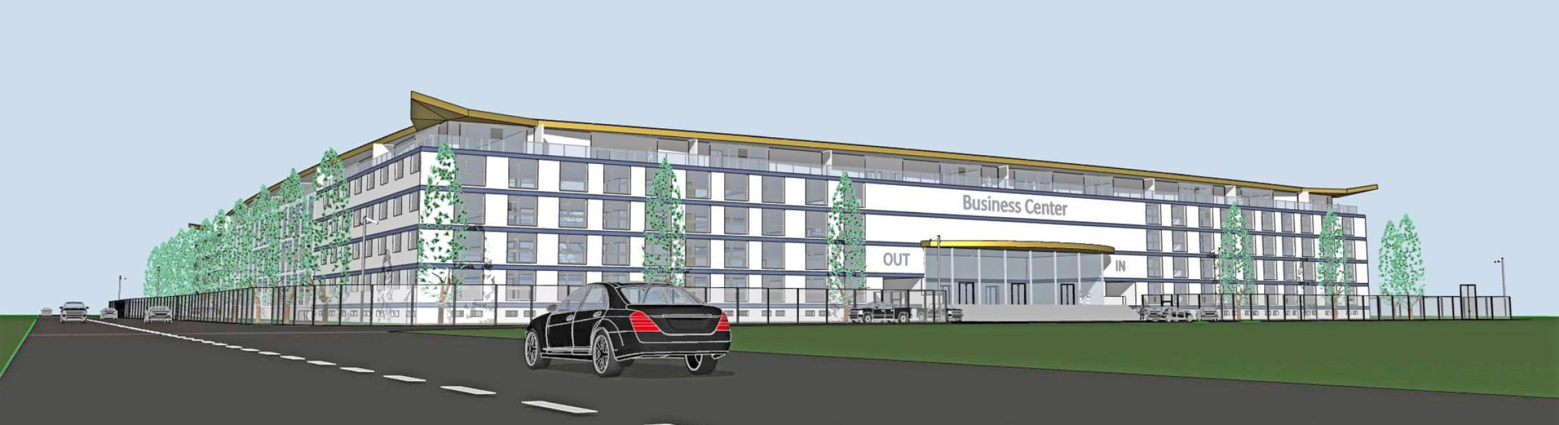 For Sale - 50 % of Pharma Business Center in Switzerland on motorway 2 - Architect Volker Goebel - Bauland Gewerbezone Arbeitszone