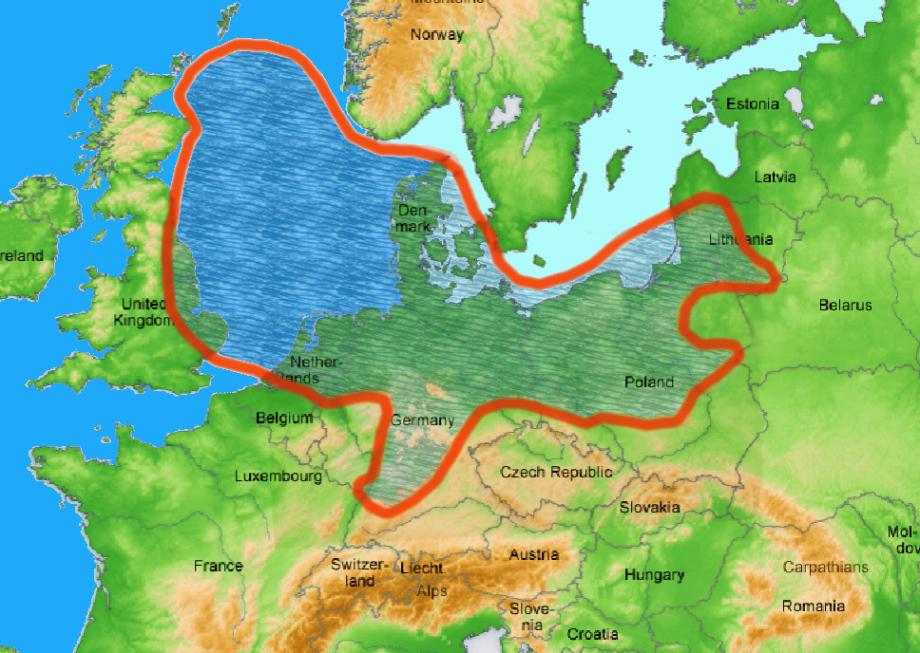 Zechsteinmeer - Steinsalz - Perm - Europa - DBHD für England, Niederlande, event. Belgien, Dänemark, Littauen, Polen, Deutschland BGE GmbH Peine BFE Berlin nagra Wettingen