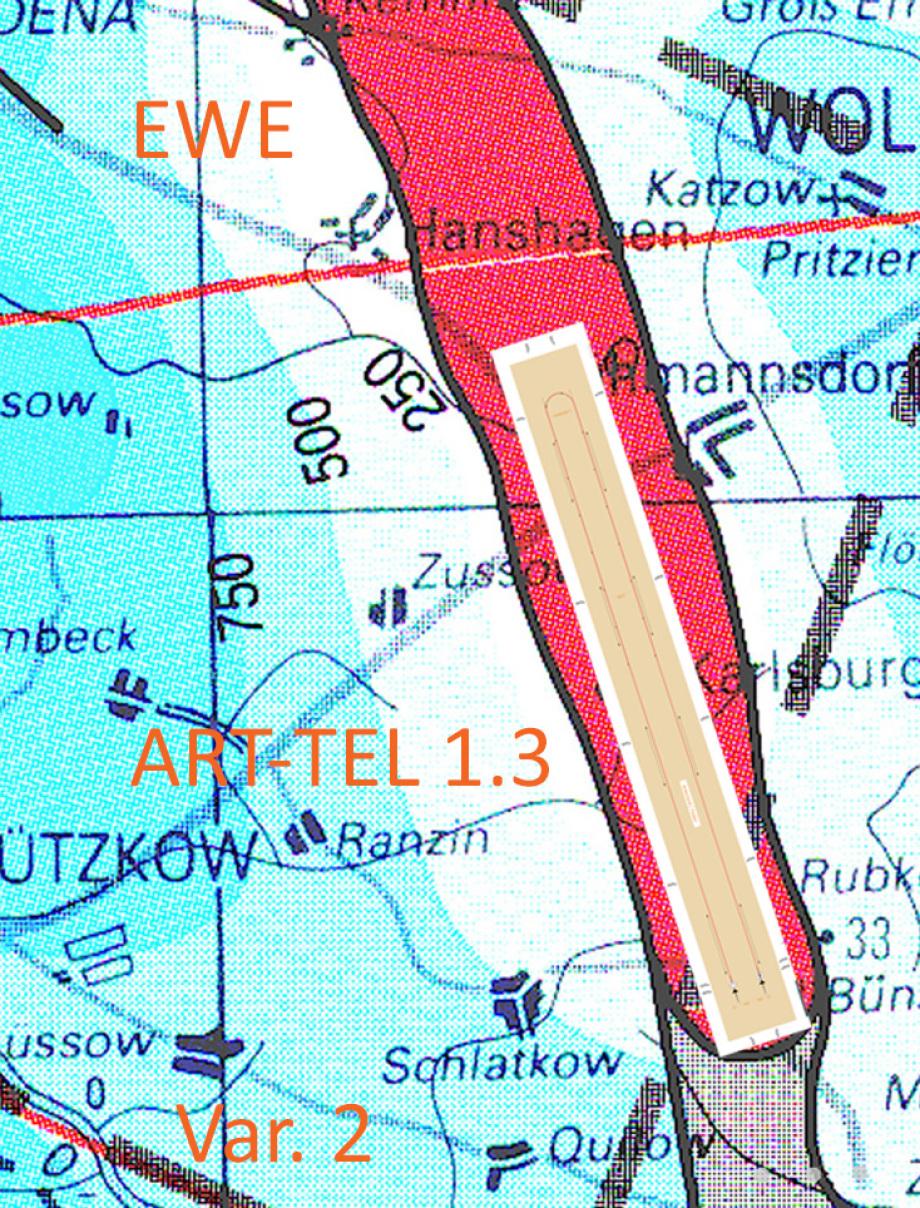 ART-TEL in geologischer Karte des Perms